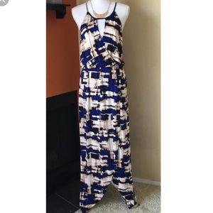 Parker printed maxi dress